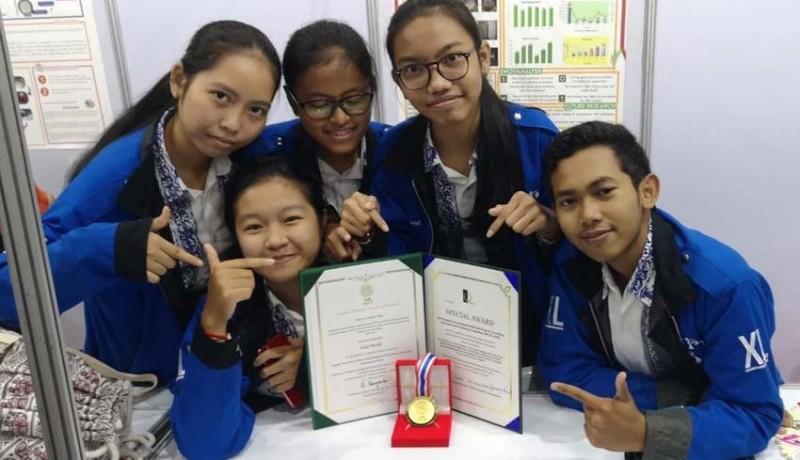 www.nusabali.com-sman-3-denpasar-raih-1-emas-1-perak-4-perunggu-kompetisi-ilmiah-di-thailand