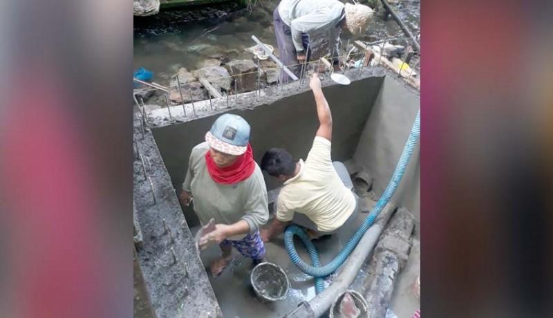 www.nusabali.com-pdam-bangun-bak-penampungan-air
