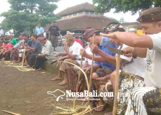 Nusabali.com - desa-muncan-persiapkan-karya-bhatara-turun-kabeh