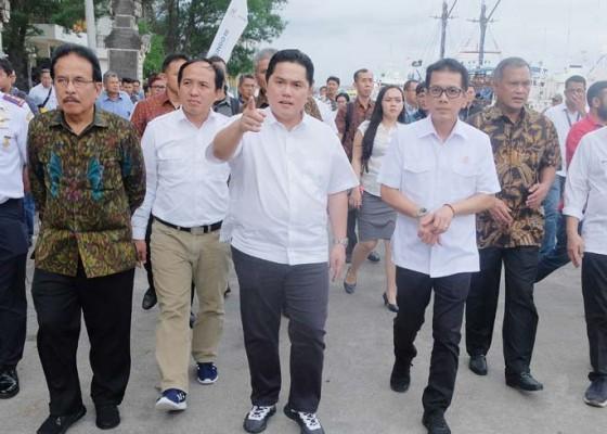 Nusabali.com - menteri-bumn-tinjau-pengembangan-pelabuhan-benoa