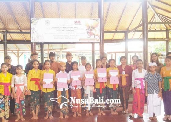 Nusabali.com - desa-adat-sukasada-gelar-lomba-nyastra-libatkan-sekolah-di-wewidangan