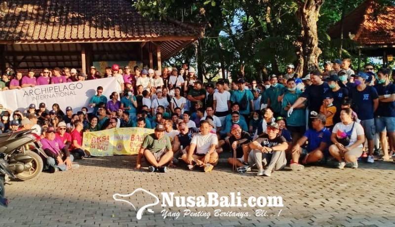 www.nusabali.com-gabungan-15-hotel-di-bali-bersihkan-pantai-matahari-terbit-sanur