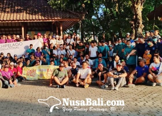 Nusabali.com - gabungan-15-hotel-di-bali-bersihkan-pantai-matahari-terbit-sanur