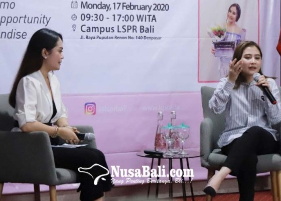 Nusabali.com - prilly-latuconsina-sharing-pengalaman-dan-motivasi-sebagai-mahasiswa
