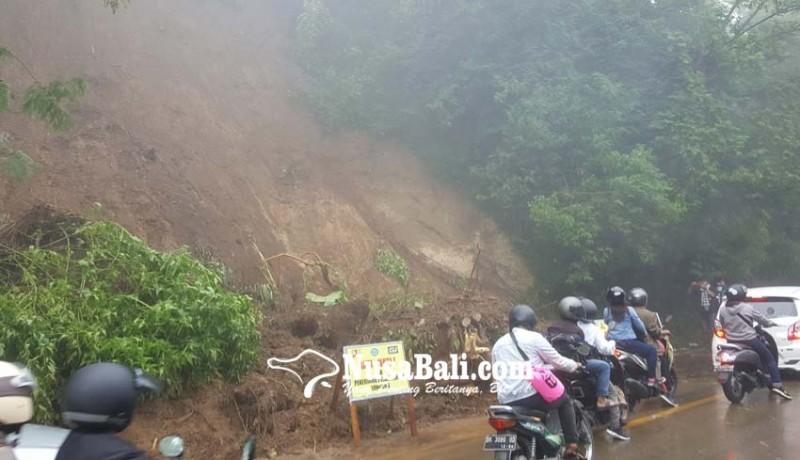 www.nusabali.com-tebing-longsor-denpasar-singaraja-sempat-krodit