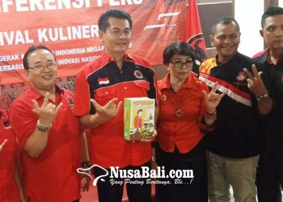 Nusabali.com - rangkaian-hut-pdip-gelar-festival-kuliner-bali-2020