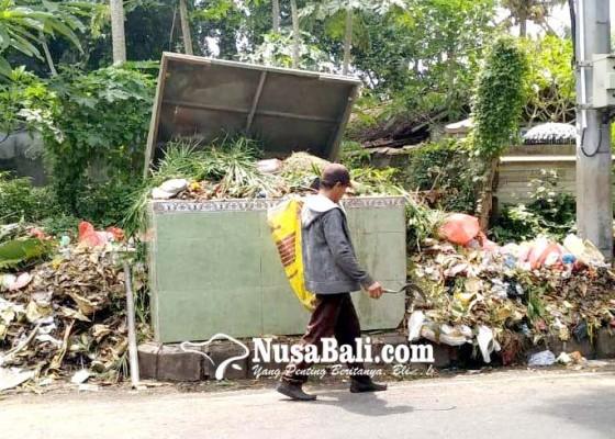 Nusabali.com - volume-sampah-melonjak-dlh-kewalahan