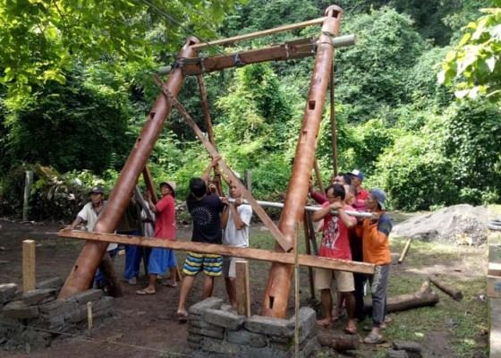 Nusabali.com - dtw-alas-kedaton-bakal-dilengkapi-wahana-sepeda-udara-flying-fox-dan-ayunan