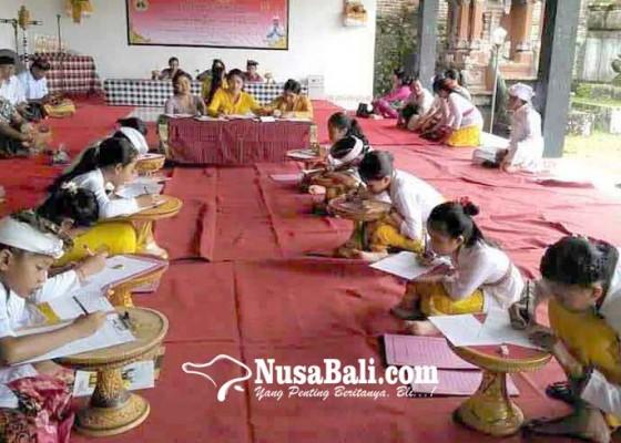 Nusabali.com - desa-tamanbali-gelar-lomba-ngelawar-dan-banten-caru