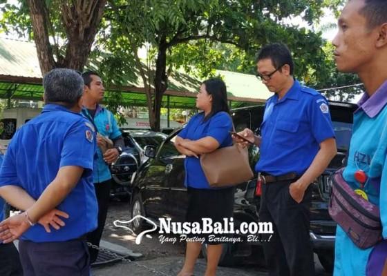 Nusabali.com - pd-parkir-sidak-parkir-rsup-sanglah