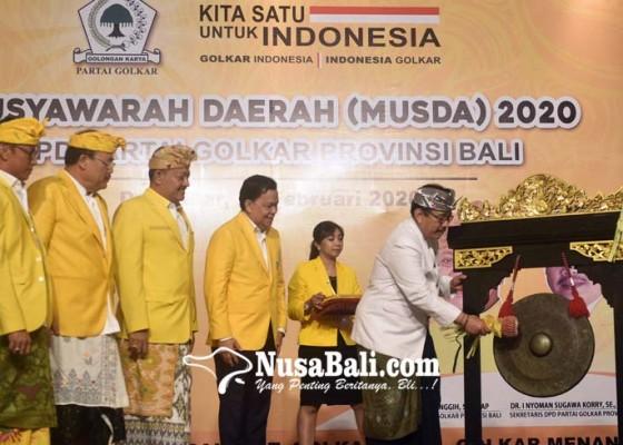 Nusabali.com - sugawa-korry-disebut-paling-layak-pimpin-golkar-bali