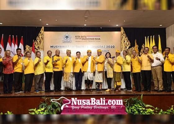Nusabali.com - pimpin-golkar-bali-sugawa-siap-roadshow-ke-sesepuh