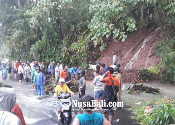 Nusabali.com - hujan-buleleng-dikepung-longsor-pohon-roboh