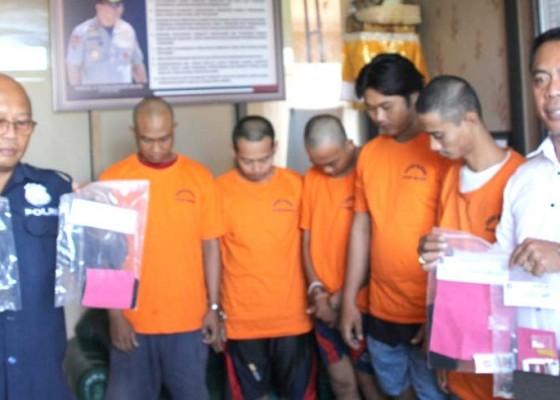 Nusabali.com - lima-pengedar-jaringan-lapas-digulung