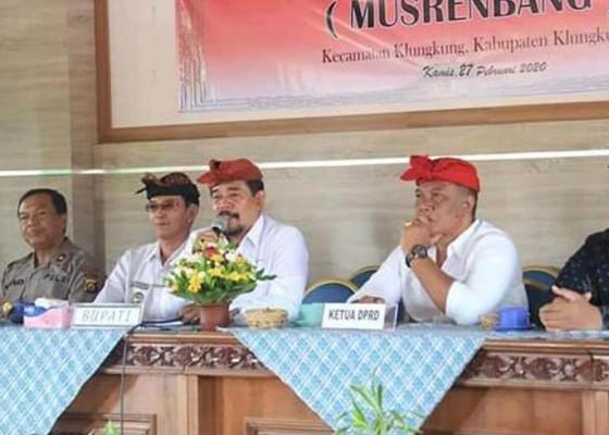 Nusabali.com - musrenbangcam-klungkung-usulkan-kegiatan-rp-21-miliar