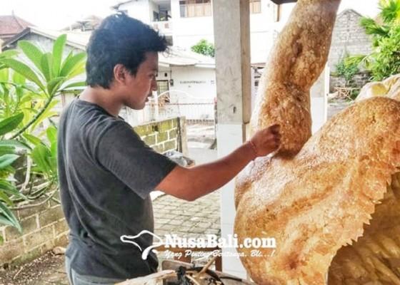 Nusabali.com - unik-ada-ogoh-ogoh-berlapis-cangkang-telur