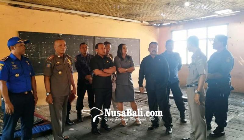 www.nusabali.com-kantor-pemadam-kebakaran-tabanan-benyah-latig-dewan-sebut-tak-layak