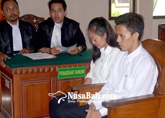 Nusabali.com - dituntut-5-tahun-karena-aborsi-sejoli-pasrah