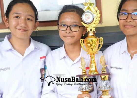 Nusabali.com - siswa-sman-2-amlapura-juara-lkti-nasional