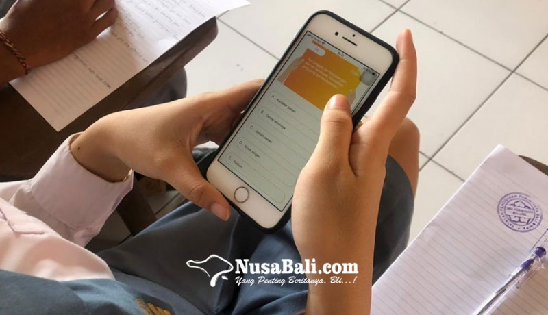 www.nusabali.com-efisien-ujian-sekolah-smk-pariwisata-dalung-gunakan-aplikasi