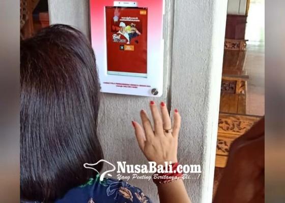 Nusabali.com - sekretariat-dprd-bali-berlakukan-absensi-wajah