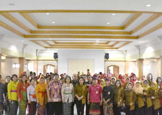 Nusabali.com - pkk-kota-semarang-belajar-inovasi-di-kota-denpasar