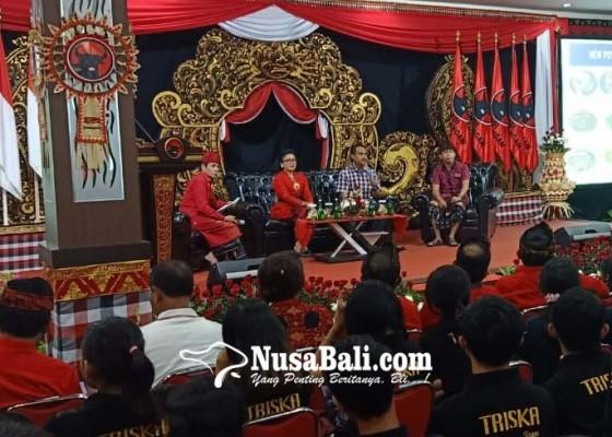 Nusabali.com - pdip-sosialisasi-serentak-gandeng-ribuan-anak-muda