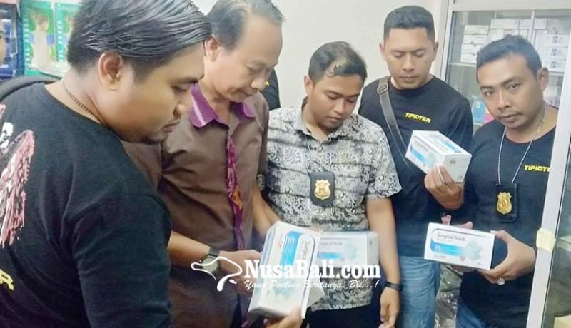 www.nusabali.com-polresta-denpasar-obok-obok-sejumlah-distributor-masker