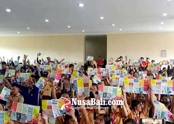Nusabali.com - ratusan-pelajar-ikuti-sosialisasi-bahaya-penyalahgunaan-narkoba-dan-hivaids
