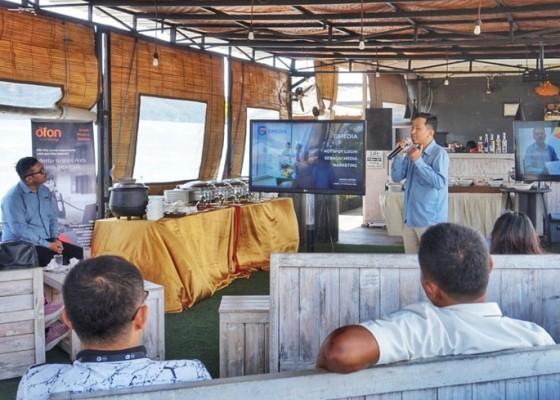 Nusabali.com - gandeng-ofon-gmedia-bahas-pentingnya-konektivitas
