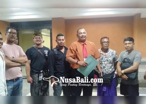 Nusabali.com - wedakarna-dilaporkan-korban-ke-polda-bali
