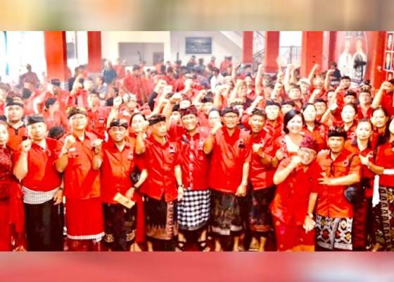 Nusabali.com - tujuh-anggota-dprd-tabanan-jadi-ketua-pac-pdip
