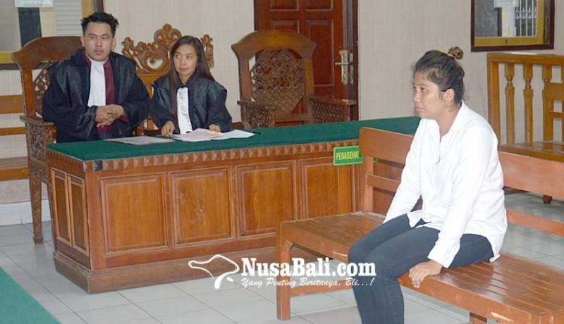 www.nusabali.com-wanita-pengedar-shabu-divonis-45-tahun