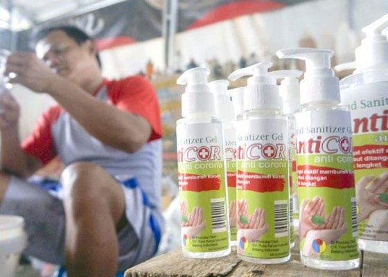 Nusabali.com - produksi-rumahan-hand-sanitizer