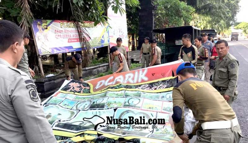 www.nusabali.com-satpol-pp-jembrana-tertibkan-reklame