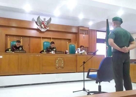 Nusabali.com - dugaan-kelainan-seksual-perwira-tni-ad-disidang