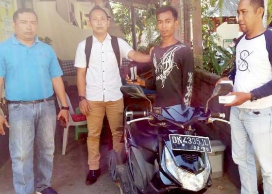Nusabali.com - pencuri-hp-di-sepeda-motor-diamankan