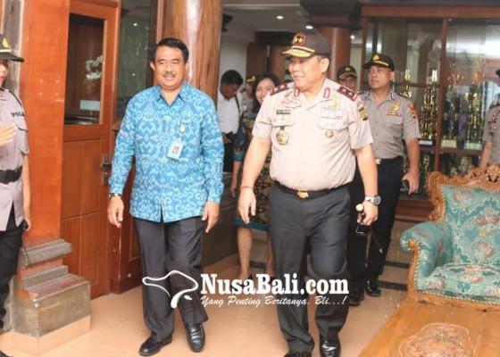 Nusabali.com - kunjungi-unud-kapolda-bahas-virus-corona