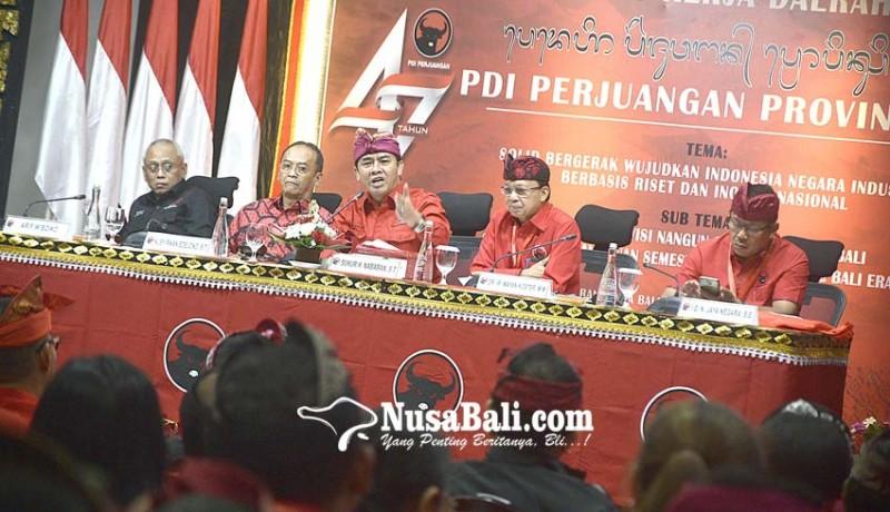 www.nusabali.com-pdip-kerahkan-pasukan-multinasional