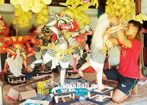 Nusabali.com - ogoh-ogoh-mini-wajib-ramah-lingkungan