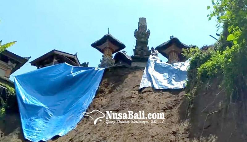 www.nusabali.com-tebing-longsor-seret-panyengker-pura