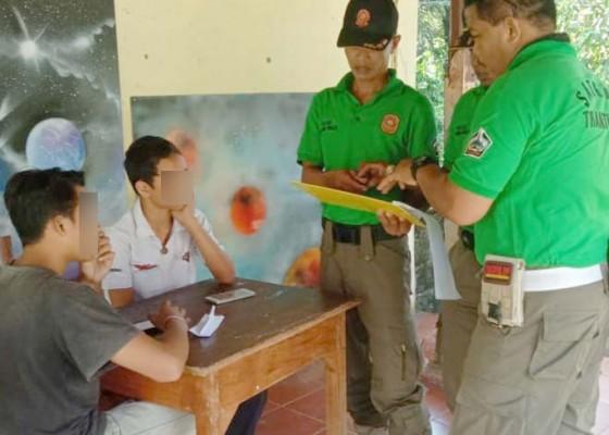 Nusabali.com - satpol-pp-ciduk-siswa-keluyuran