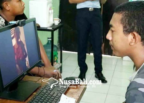 Nusabali.com - besuk-lapas-anak-diganti-video-call