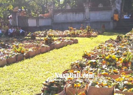 Nusabali.com - desa-adat-penglipuran-gelar-ngusaba-bantal