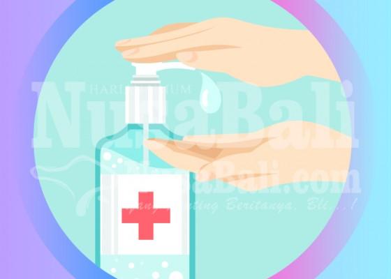 Nusabali.com - litbang-kemenperin-produksi-hand-sanitizer-500-liter-per-hari