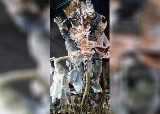 Nusabali.com - ogoh-ogoh-banjar-dukuh-mertajati-sidakarya-raih-nilai-tertinggi