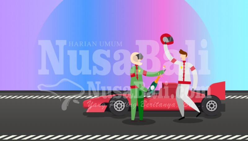 www.nusabali.com-imi-badung-mulai-siapkan-venue-balap