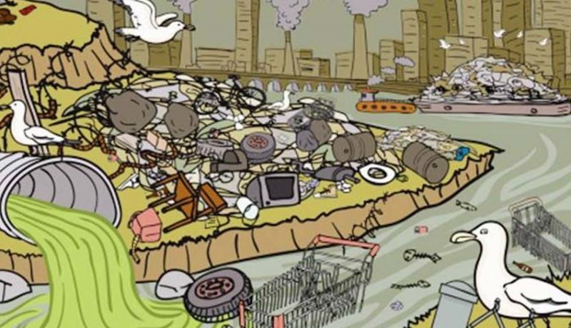 Nusabali Com Dkp Dukung Pararemkan Pembuang Sampah Ilegal