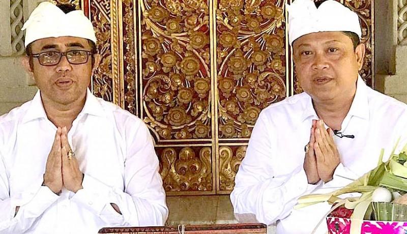 www.nusabali.com-rai-mantra-dan-jaya-negara-ucapkan-selamat-hari-suci-nyepi-caka-1942