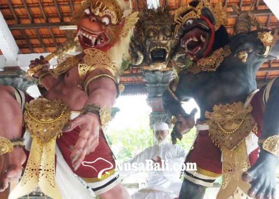 Nusabali.com - ogoh-ogoh-dwarapala-murka-jawara-lomba-tingkat-kabupaten-jembrana